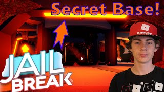 How to get to the SECRET Volcano Base in Jailbreak (UPDATED 2020)
