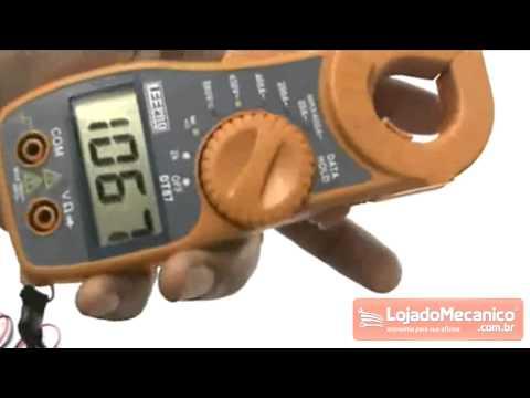 Alicate Amperimetro Digital MT87 - Video
