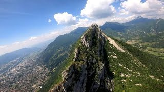 Grenoble - FPV drone footage - part 1 (RE-EDIT)