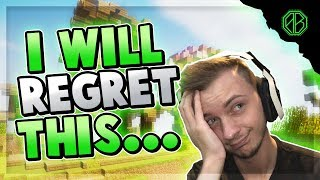 I will REGRET THIS... ( Hypixel Skywars BET )