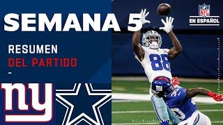 Los Cowboys se llevaron una importante victoria | Highlights @New York Giants @Dallas Cowboys
