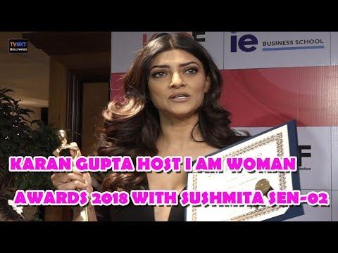 Karan Gupta Host I Am Woman Awards 2018 With Sushmita Sen | TVNXT Bollywood