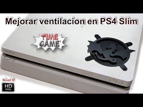 Mejorar la refrigeracion de nuestra PS4 Slim