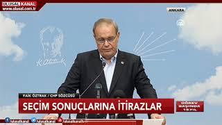 CHP'den 31 Mart Yerel Seçim Sonuçları, YSK Ve İstanbul Açıklaması