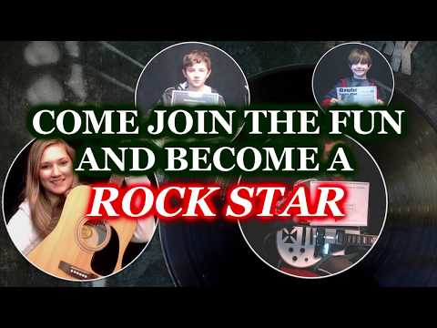 Come check out our Rock Star Guitar Program where you or your kids can have tons of fun while learning to play the guitar!