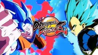 SUPER SAIYAN BLUE GOKU/VEGETA TRAILER: DragonBall FighterZ