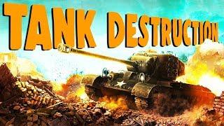 TOTAL Tank DESTRUCTION! - World of Tanks Gameplay