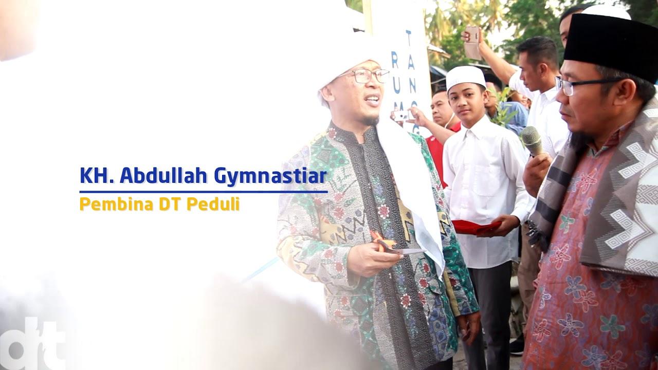 Peresmian Rumah Tangguh Lombok oleh KH. Abdullah Gymnastiar