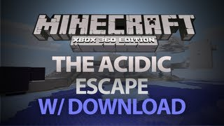 Minecraft: Xbox 360 Edition - The AciDic Escape W/ DOWNLOAD (Custom Escape Map)