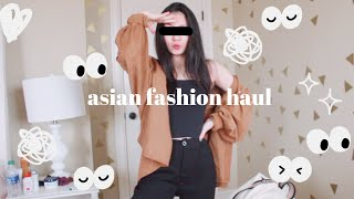 Asian Fashion Try-On Haul [YesStyle + What I Bought In China]