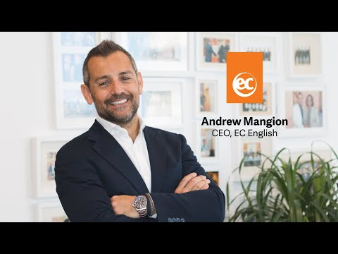 Learn English Online with EC Virtual   Andrew Mangion, CEO ...