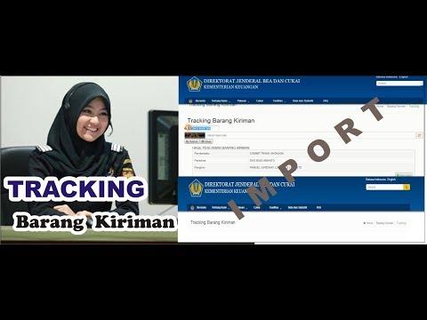 CARA MELACAK KIRIMAN BARANG IMPORT DI WEBSITE BEA CUKAI (ONLINE SHOP)