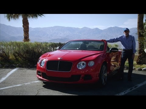 2013 Bentley Continental GT Speed Convertible - Review - CAR and DRIVER