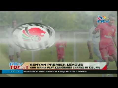 Gor Mahia play Kariobangi Sharks in Kisumu