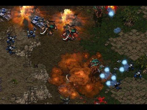 Light (T) v SonGaln (Z) on Fighting Spirit - StarCraft  - Brood War REMASTERED