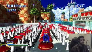 Sonic Generations PC - (1080p 60FPS) Unfair Seaside Hill Mod W/Facecam