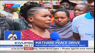 Mathare residents accuse the police of brutality after they tried to stop an inter-community meeting