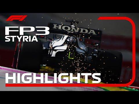 F1第8戦オーストリアGPのFP3ハイライト動画