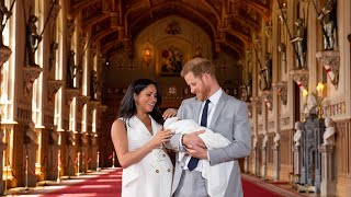 'The sweetest temperament': Prince Harry and Meghan introduce their son to the world