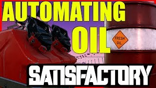 Satisfactory Gameplay | Oil automation