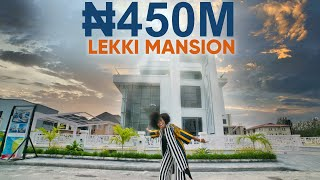 Inside a ₦450 MILLION ($1,180,000) 5 Bedroom Mansion in Lekki