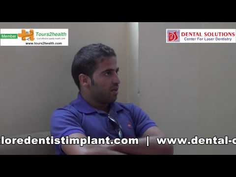 Omar tells about his experience of Dental Treatment in India