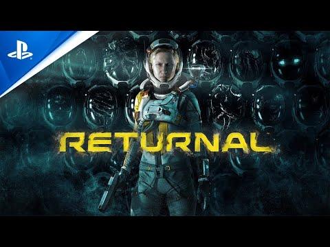 《死亡回歸 Returnal》 PS5 第三人稱動作射擊遊戲 實機遊玩畫面的宣傳影片