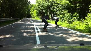 Jahodna longboard downhill part 1