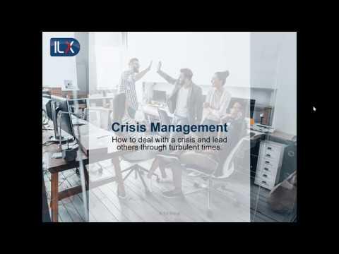 Crisis management - YouTube