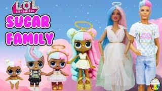 Sugar Family DIY Custom Fun Craft With Barbie and Ken Cupcake Kids Club