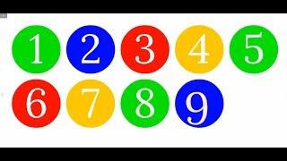 Развивающий Мультфильм.  Учимся считать. Цифры. Цвета.