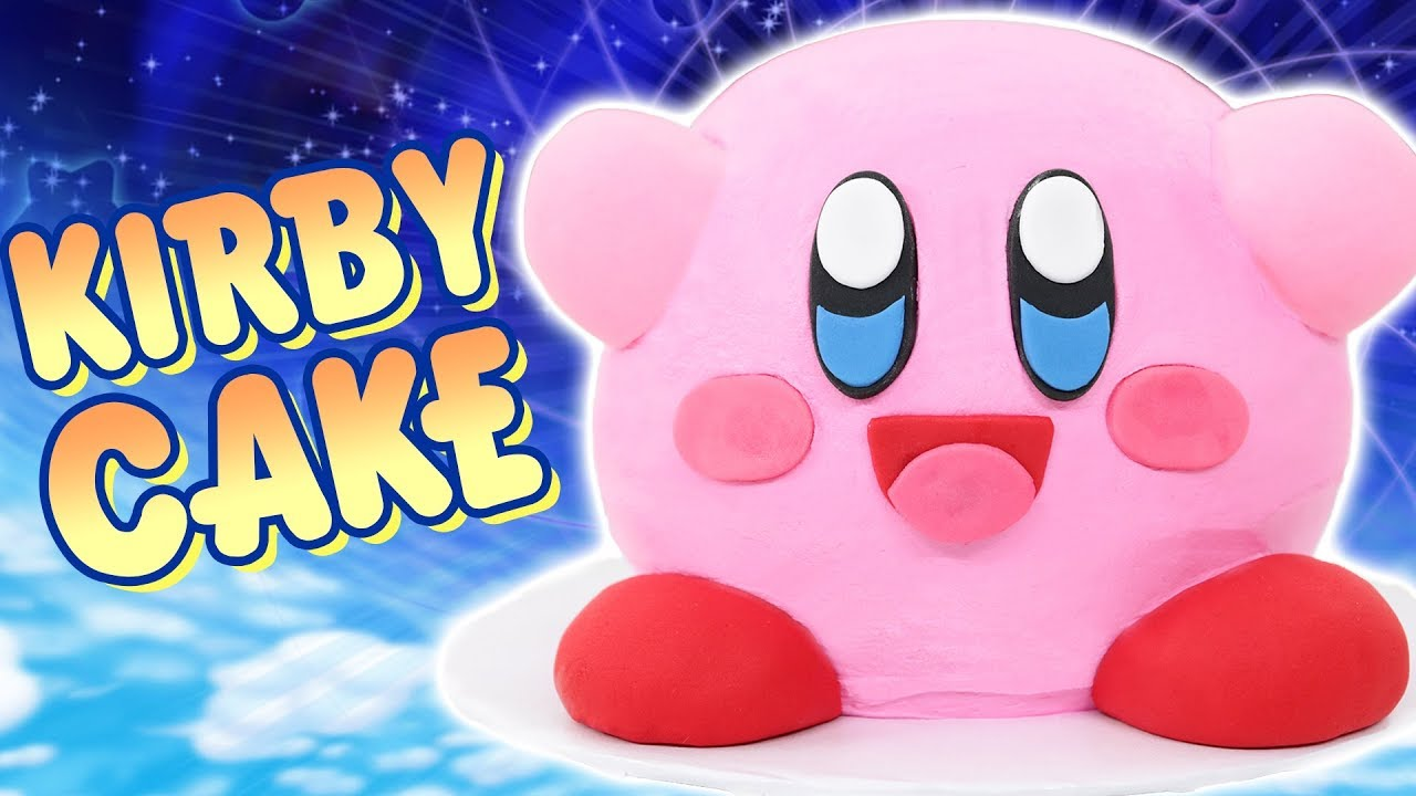 HOW TO MAKE A KIRBY CAKE! - Nerdy Nummies thumbnail