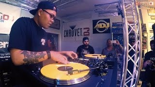 Dstrukt Performs on Battle Ave and DJcity's 'At the Ave Tour'