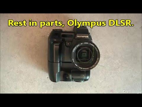 One way teardown Olympus E-10 DSLR camera