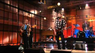 Maroon 5 never gunna leave this bed (the tonight show 17 01 11)HD