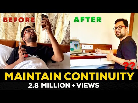 How to Maintain Continuity like a River in Studies | Studying Effectively and Continuously