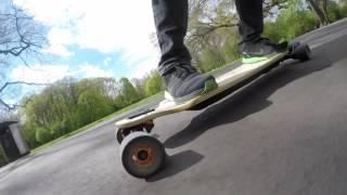 Elektro Skateboard Bamboo GT in Berlin - Treptower Park