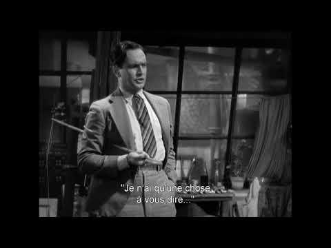 Bande-annonce (trailer) Sérénade à trois d'Ernst Lubitsch (HD / VOSTFR)
