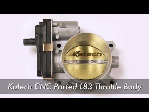 Katech CNC Ported LT1 LT4 L86 Throttle Body - смотреть