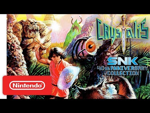 Crystalis Trailer - SNK 40th Anniversary Collection - Nintendo Switch thumbnail