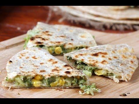 Video Broccoli Quesadillas