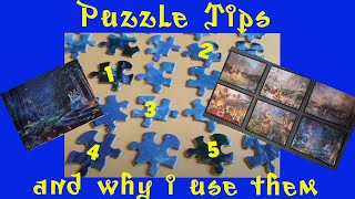 5 JIGSAW PUZZLE TIPS and Why I Use Them