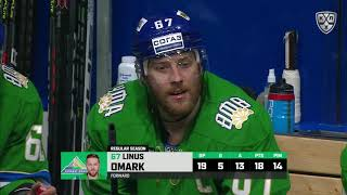 Ak Bars 1 Salavat Yulaev 3, 19 October 2019