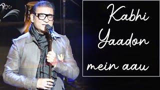 Kabhi Yaadon mein Aau | Tere Bina | Live in Concert | Abhijeet