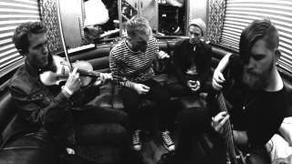 "Machine Gun Kelly and Leroy Sanchez perform ""Gone"" acoustic on the tour bus"