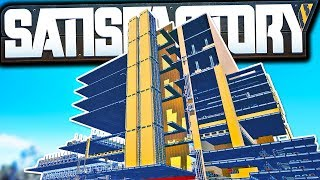 The New Core to our Mega Factory, 'The Spine'! | Satisfactory Early Access Gameplay Ep 47