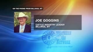 Joe Goggins Will Testify on Cattle Market Volatility
