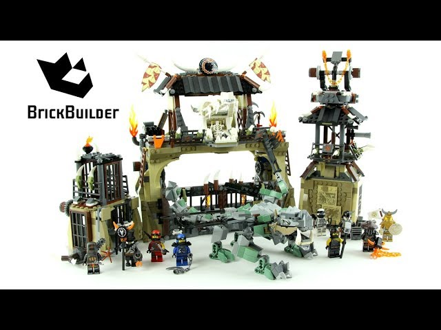 Lego Ninjago 70655 Dragon Pit Lego Speed Build Brick Builder