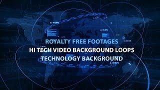 hi tech video background loops | digital technology background video | digital background video loop