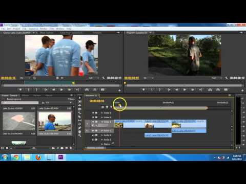 Adobe Premiere Pro CS6 – Basic Editing Introduction Tutorial